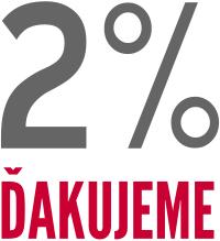 OZ ČLEN a 2% VAŠICH DANÍ